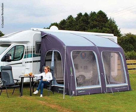 Outdoor Revolution Aufblasbares Caravan Teilzelt E-Sport Air 325