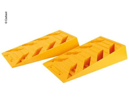 Ausgleichskeile gelb, 2er Set, Höhe max. 90mm