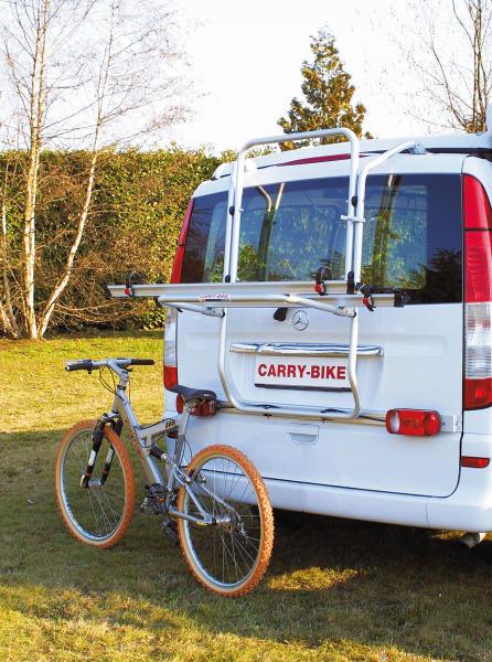 Heckträger für Mercedes Viano (Carry Bike Ford Transit ab 2000)