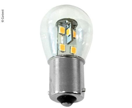LED BA15S, 0,7W, 60 Lumen, 16 warmweiße SMD