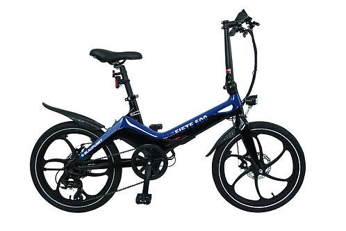 """E-Bike faltbar """"FIETE 500"""" blau/schwarz 20"""""""