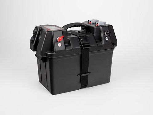 Carbest Batteriebox Energy-Station mit Außenklemmen