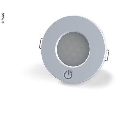 Fawo LED 12V Einspot 14 LEDs, 0,5W, Ø75mm
