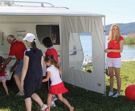 FIAMMA SIDE Caravanstore XL, Markisenzelt-Seitenteil mit Fenster