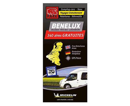 Michelin Stellplatzkarte kostenlose Stellplätze in Benelux