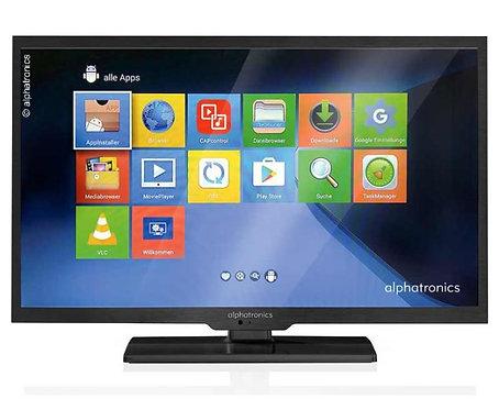 ALPHATRONICS Fernseher 22' LED Triple Tuner DVB-S2/DVB-T2 mi
