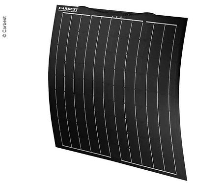 Flexibles Solarpanel 80W, 800x670x3,5mm, kabel 0,9m, TPT+Fiberglas
