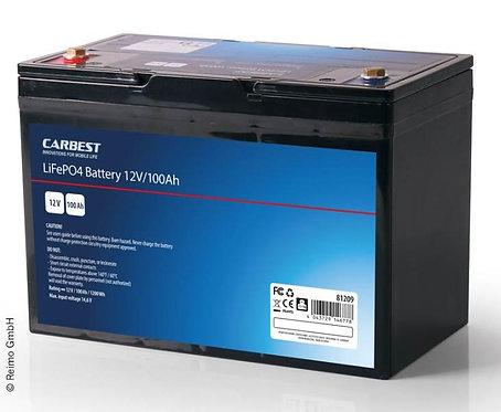 Carbest Lithium-Eisen-Phosphat Batterie (LiFePo4),100Ah