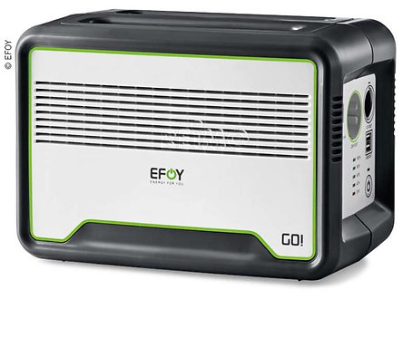 EFOY GO! Mobile Steckdose mit Lithium-Batterie(240Wh / LiFePO4, 20Ah)