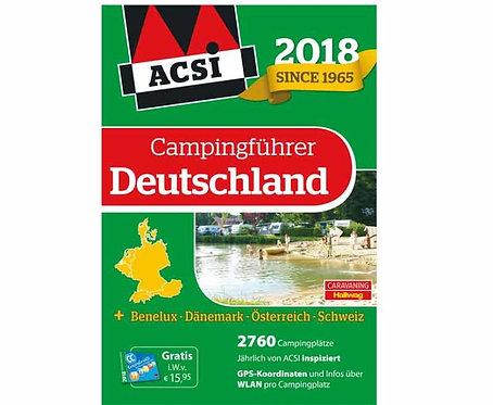 ACSI Campingführer Deutschland 2018