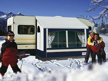 HERZOG Kaprun DC 150 Wintervorzelt 150x150 cm