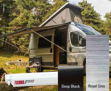 Fiamma F80S Dachmarkise 3,2m, Royal Grey für Vans und Wohnmobile