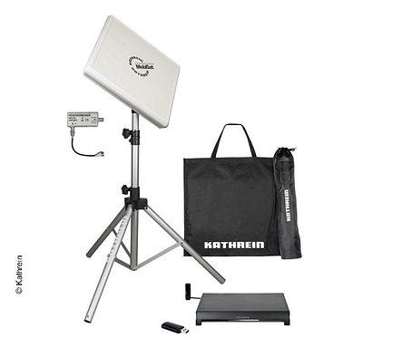 Antennen-Set HDS 166 - Flachantenne + BAS 66 + HDZ66 + CAP-Konverter WLAN Ad