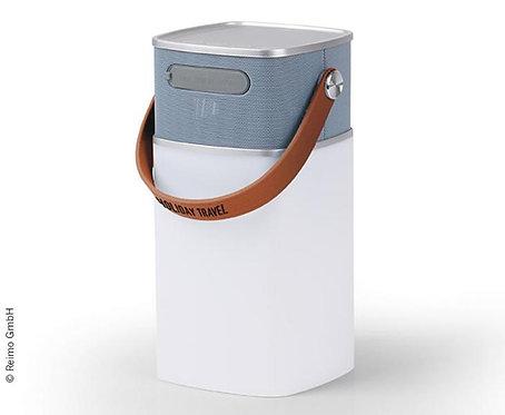 Bluetooth-Speaker HOLIDAY TRAVEL, mit Leuchte, als Powerbank nutzbar