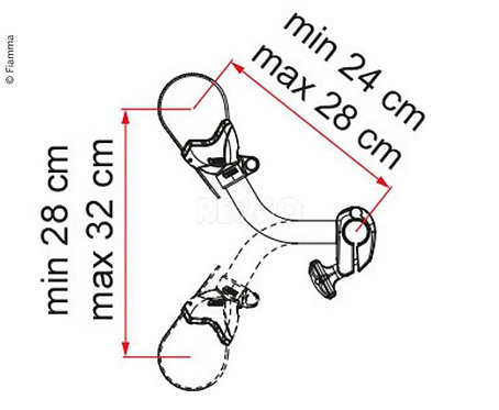 Fahrradbefestigung Bike Block Pro S2