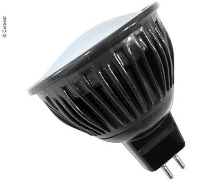 LED Kaltlichtspiegel 1,5W, 9 WARMWEIßE SMD, GU4