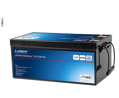 Lithium-Eisen-Phosphat Batterie (LiFePO4), 200 Ah, Carbest