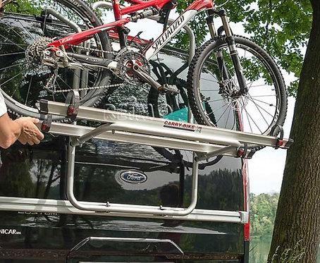 Fahrradträger Carry Bike Ford Transit Custom Black für 2 (max. 3) Räder
