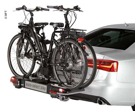 BackPower Fahrradträger für Anhängerkupplung mit Platz für 2Fahrräder