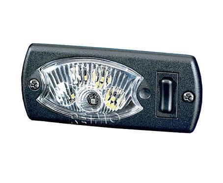 LED 12V Innenleuchte, blau/weiß, 1,7/3,6Watt
