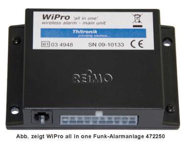 Funk-Alarm WiPro 'all in one' als vormontierter Einbaukit Für Iveco Daily ab 06