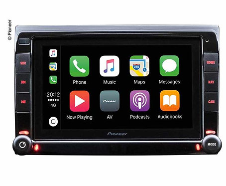 Pioneer Navigations/Mediacenter für Fiat Ducato mit Originalradio