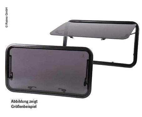 Ausstellfenster für gewölbte Kastenwagen-Wände, 900x400, Carbest