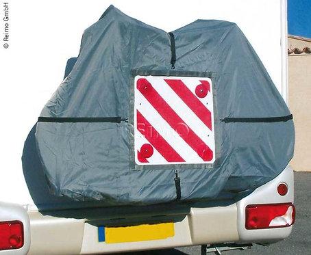Fahrradabdeckhaube für 4 Fahrräder mit Tasche für Warntafel