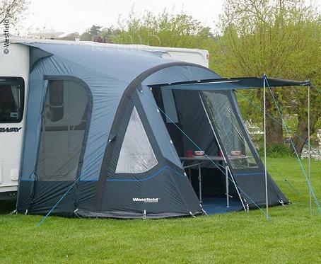 Caravan Vorzelt Air DORADO 350, Luftgestänge, Farbe: Grau, f.Anbauhöhe 235-250cm