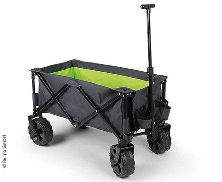 Gepäckwagen/Strandbuggy, anthraz/lime, breite Reifen für Sand