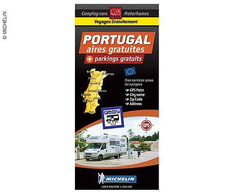 Michelin Stellplatzkarte kostenlose Stellplätzer in Portugal