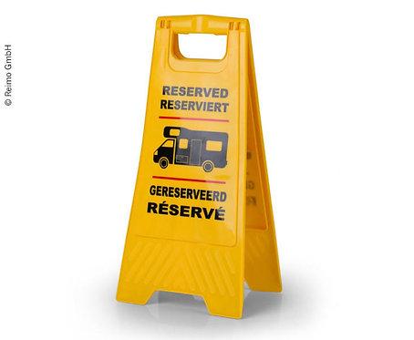 Reserviert-Schild zum Aufstellen