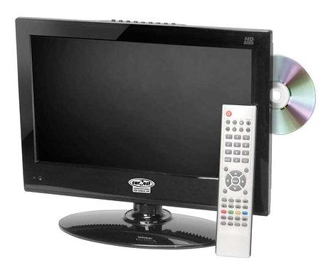 12V Fernseher, Camping-Fernseher 15,6' m.DVD