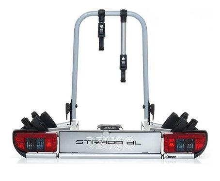 Heckträger Strada DL für Anhängerkupplung klappbar für 2 Fahrräder