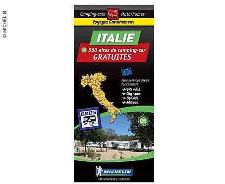 Michelin Stellplatzkarte kostenlose Stellplätze in Italien