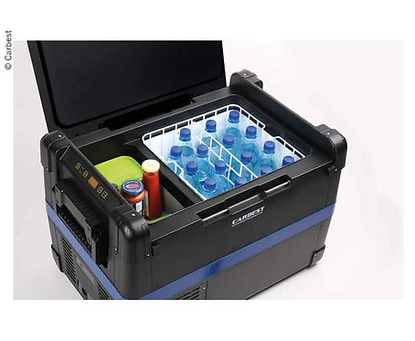 Carbest Kompressor-Kühlbox 12V/24V/220-240V, 40L, ca 714x449x426mm, 20kg