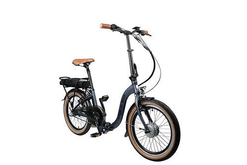 """E-Bike faltbar """"FRANZI 500"""", schwarz 20"""""""