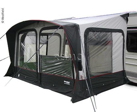 Wohnwagenvorzelt aufblasbar OMEGA AIR 400, Luftzelt, inkl.Luftpumpe