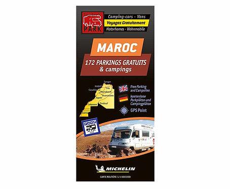Michelin Stellplatzkarte kostenlose Stellplätze in Marokko