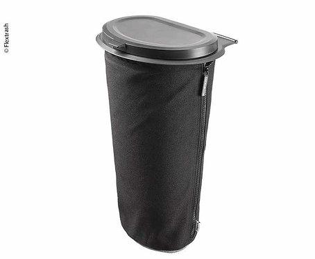 Flextrash Mülleimer, 9L, schwarz, biologisch abbaubares Material