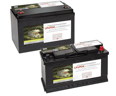 Büttner Bordbatterie mit Lithium Technologie 12V 110Ah