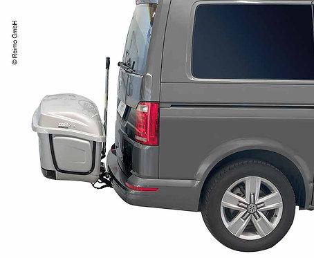 BackBox für BackCarrier Silber,Transportsystem für Anhängerkupplung