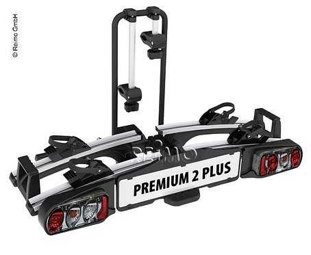 Fahrradträger für Anhängekupplung Premium II Plus, silber/schwarz