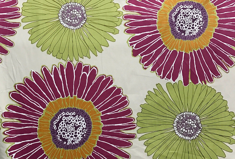 Purple - Green - Daisy - Floral