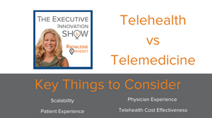 telehealth vs telemedicine