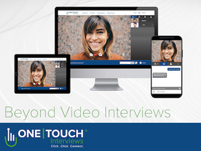 PRESS RELEASE: One Touch Interviews Launches New Release 5.0