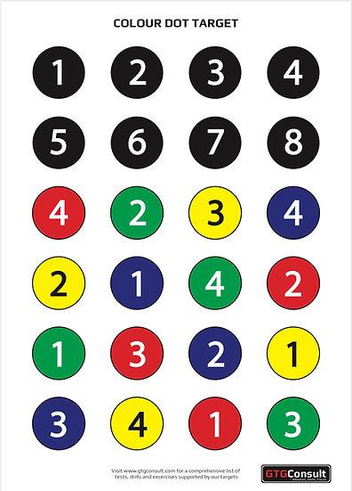 GTG Color Dot Target