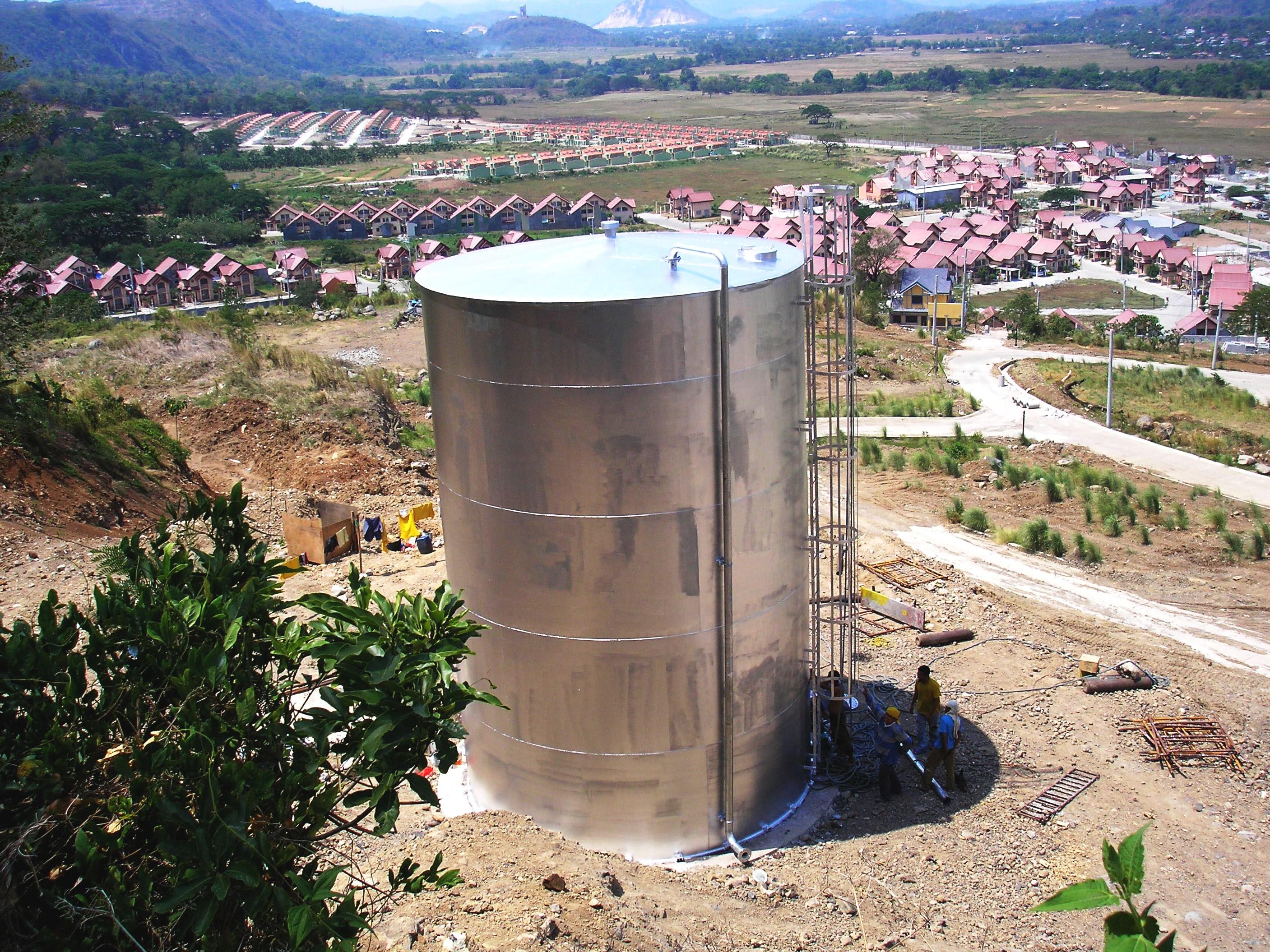 Above Ground Water Tank