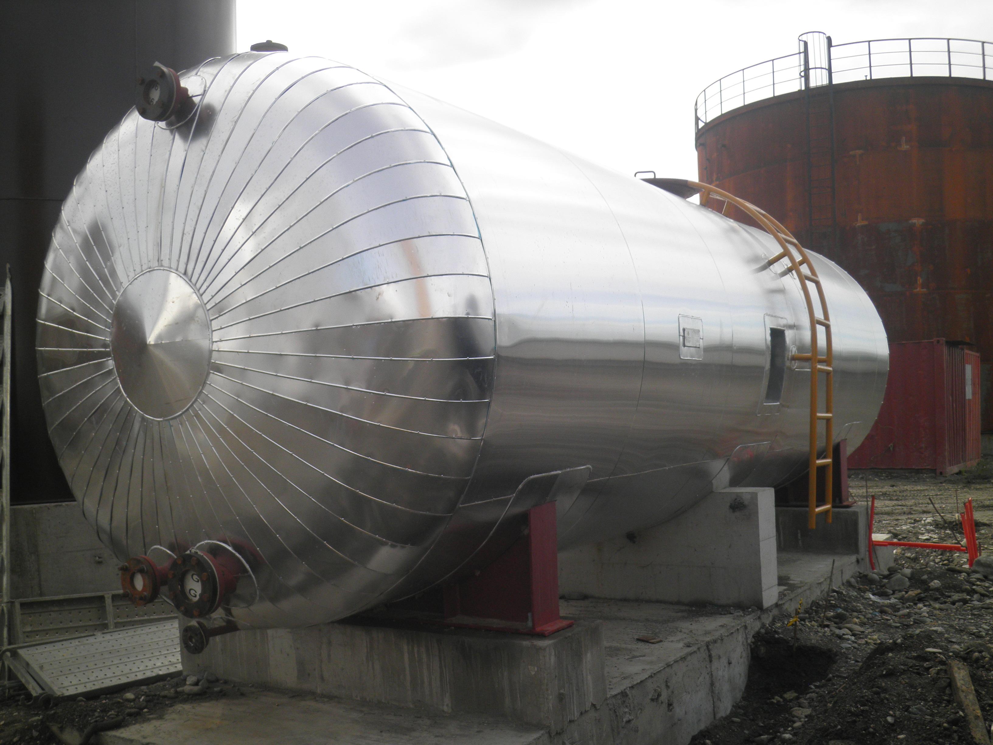 Heavy Fuel Oil Steam Heated Tank