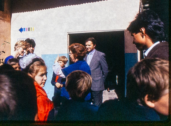 Opening at the Kuranti, 1989